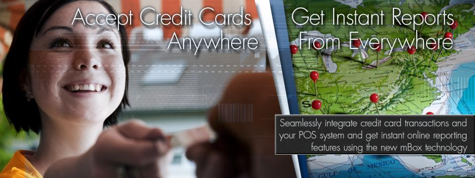 Accept Credit Cards Anywhere, Get Reports From Everywhere