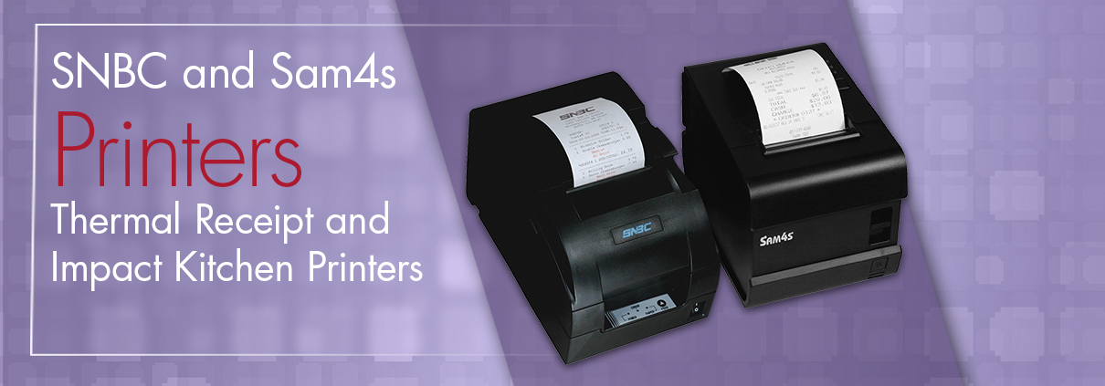 Thermal and Impact Printers