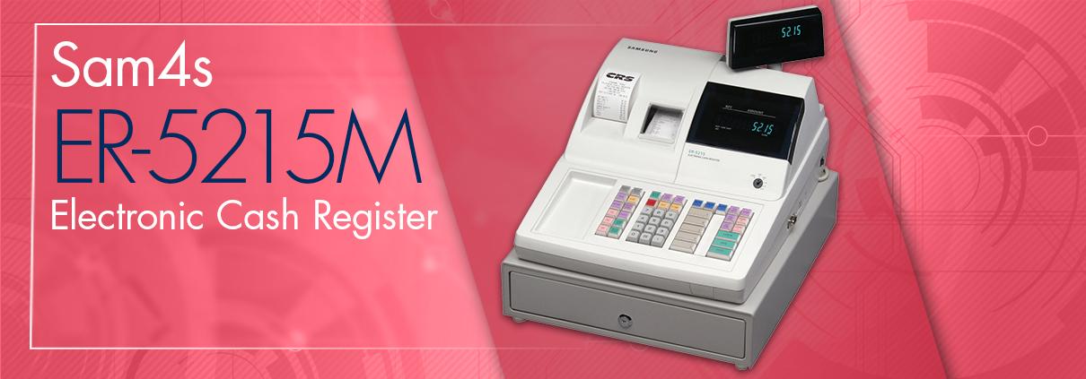 ER-5215M Electronic Cash Register