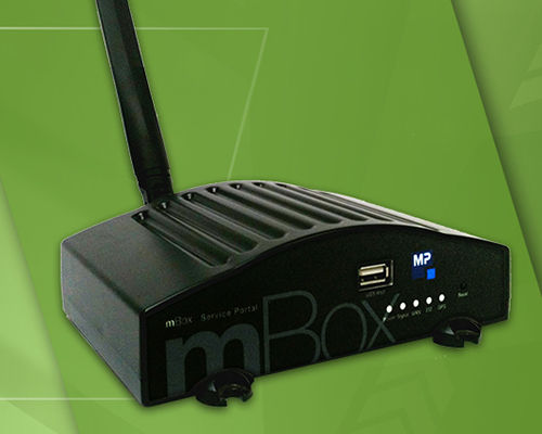 m-Box Wireless Credit Card Modem