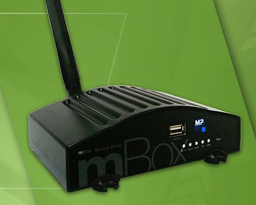 m-Box Wireless Credit Card Modem