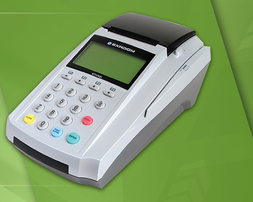 Exadigm XD 1000 Credit Card Terminal