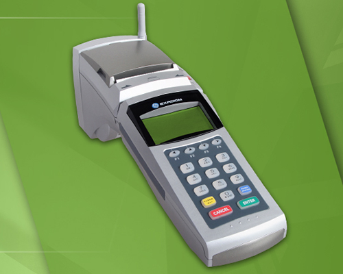 Exadigm XD 2000 Credit Card Terminal