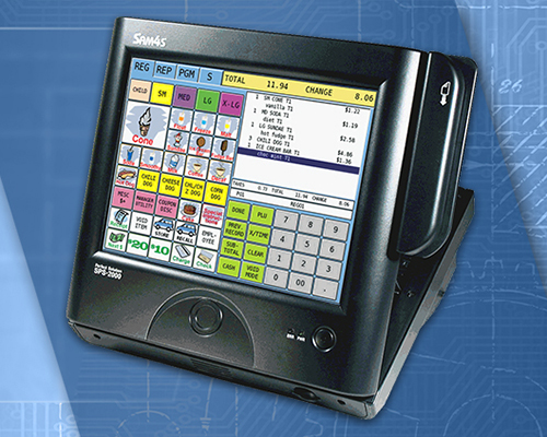 SPS-2000 Touchscreen Terminal