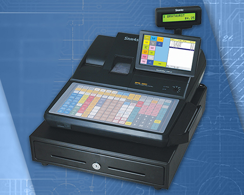 SPS-520 Hybrid touchscreen cash register
