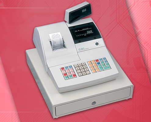 ER-350 II Electronic Cash Register