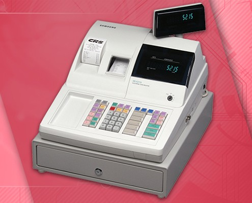 ER-5215M Electronic Cash Register