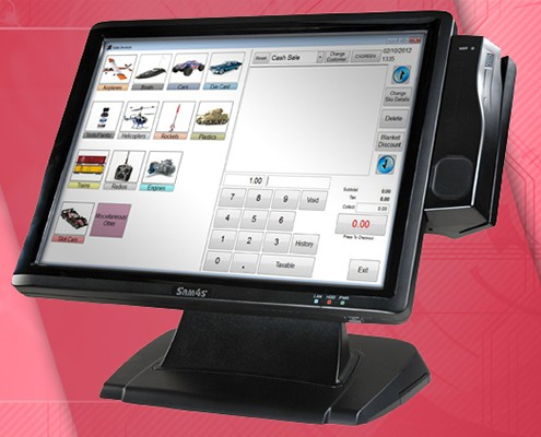 SPT-4700 Touchscreen POS System
