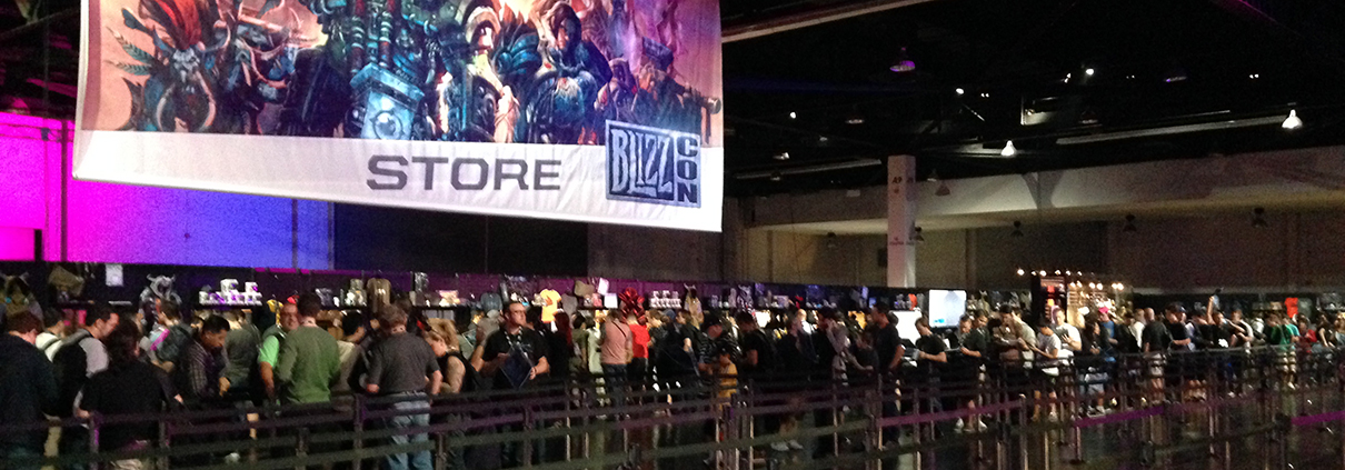 blizzcon lines