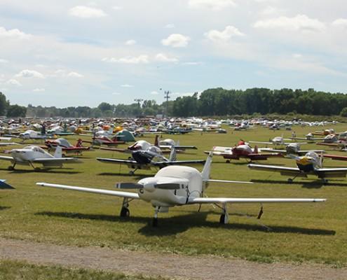 eaa field of planes