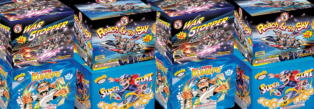 fireworks boxes